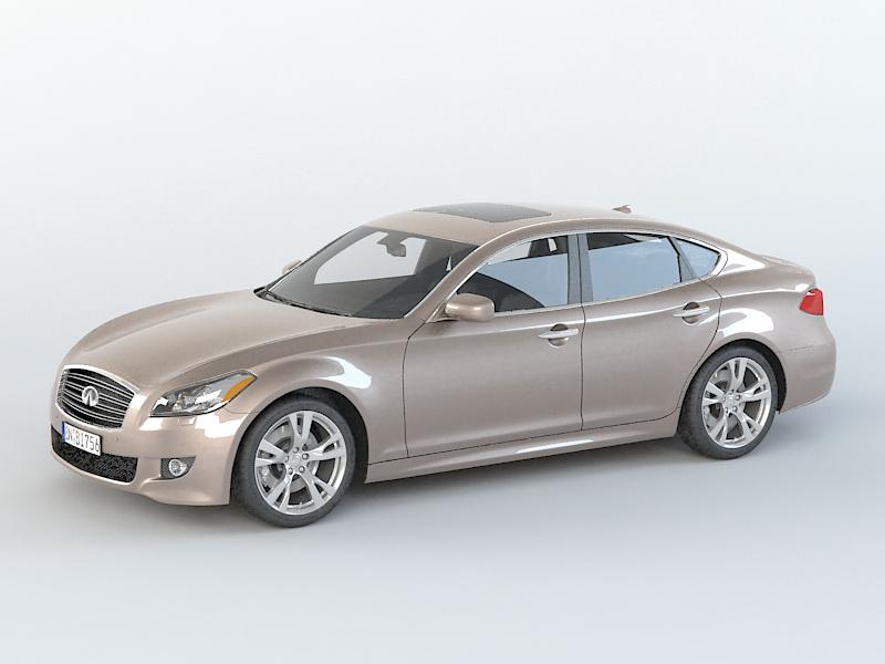 Infiniti M56 3D model