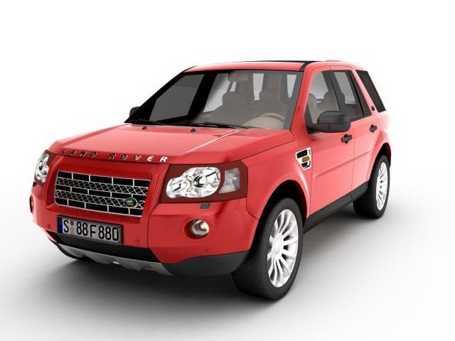 Land Rover Freelander 3D model