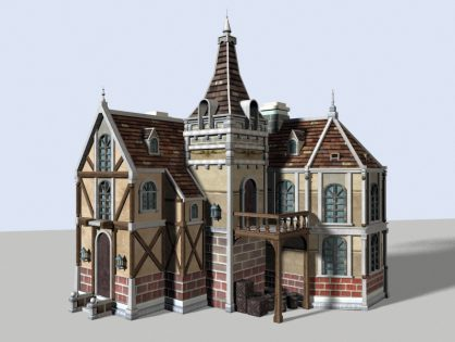 Medieval Town House