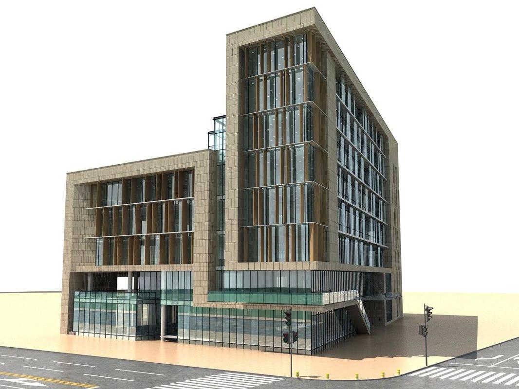 Metropolitan building 3D model