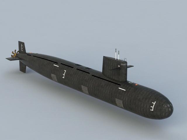 Nuclear Submarine 3D model