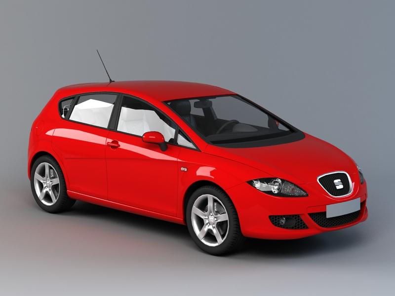 SEAT Leon 3D model