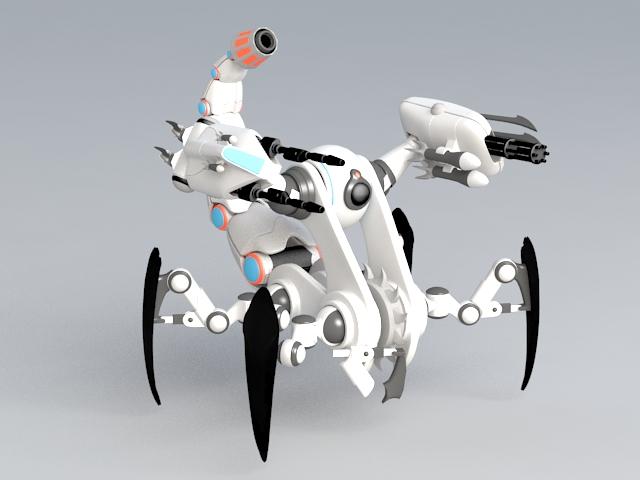 Scorpion Walker 3D model