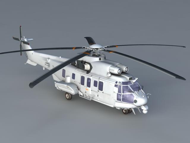 Transport Helicopter 3D model