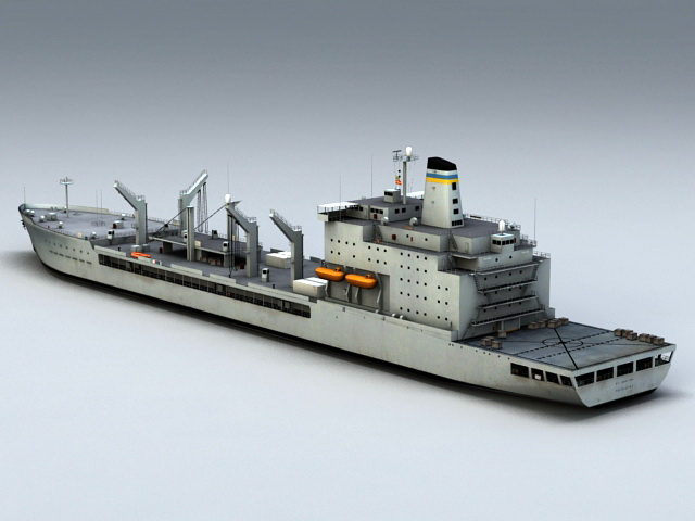USNS Patuxent 3D model