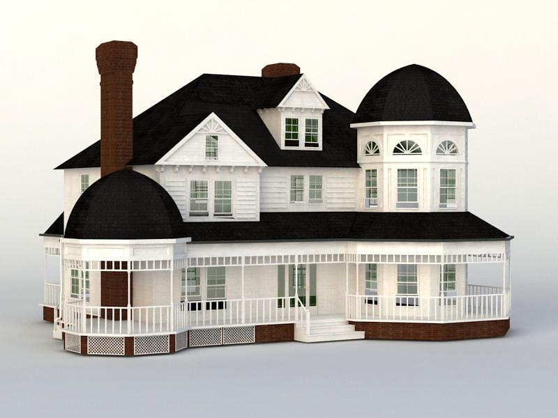 Victorian House 3D model