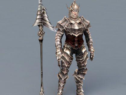 Warrior Armor with Spear