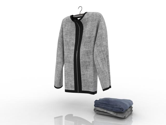 Women's Pullover 3D model
