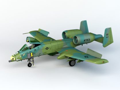 A-10 Thunderbolt 3D model