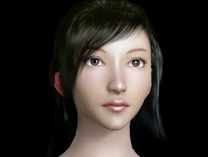 Beautiful Female Head