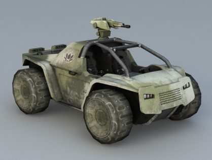 Combat Fighting Vehicle 3D model