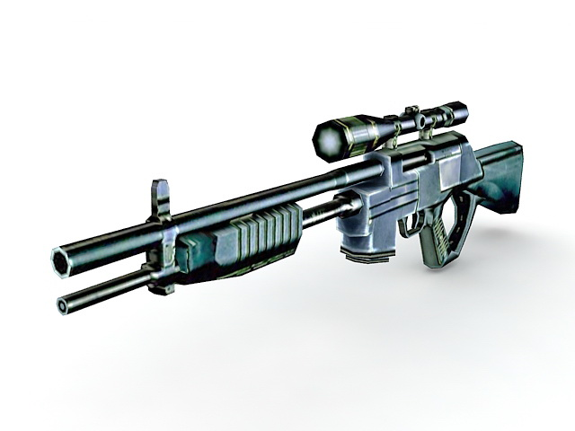 CrossFire Rifle 3D model