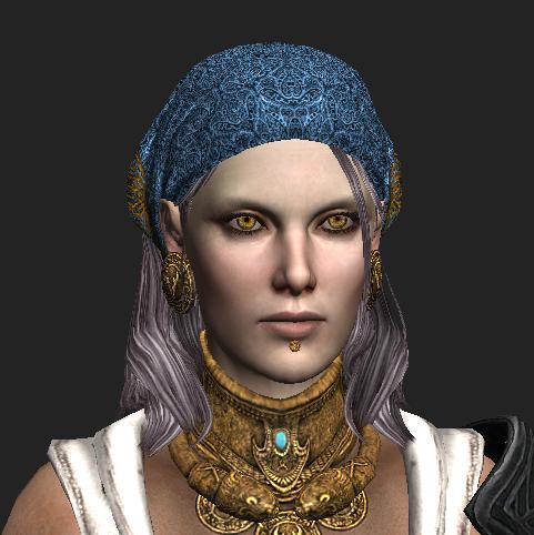 Female Pirate 3D model