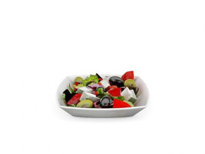 Fresh vegetable salad 3D model