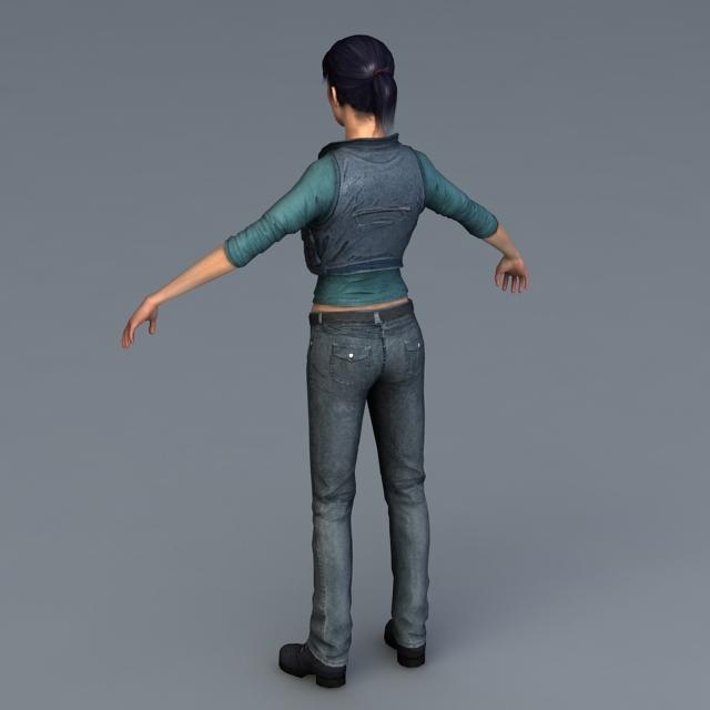 Helena Rosenthal 3D model