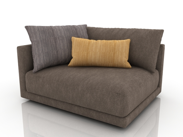 Little couch 3D model