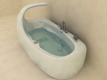 Modern Tub 3D model