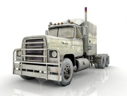 Old truck Long nose