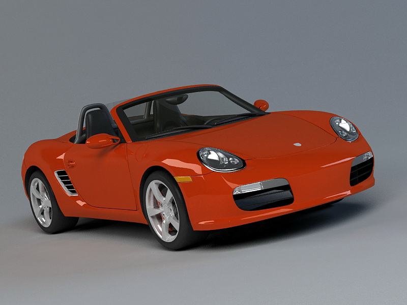 Porsche 718 Boxster 3D model