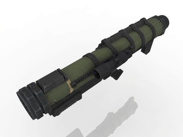 RPG-28 3D model