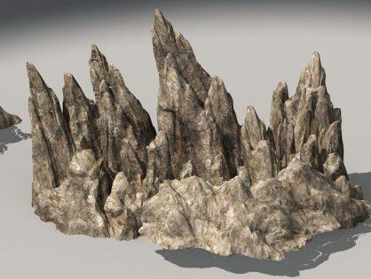Rocky Mountains 3D model