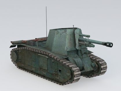 105 leFH18B2 Self Propelled Gun