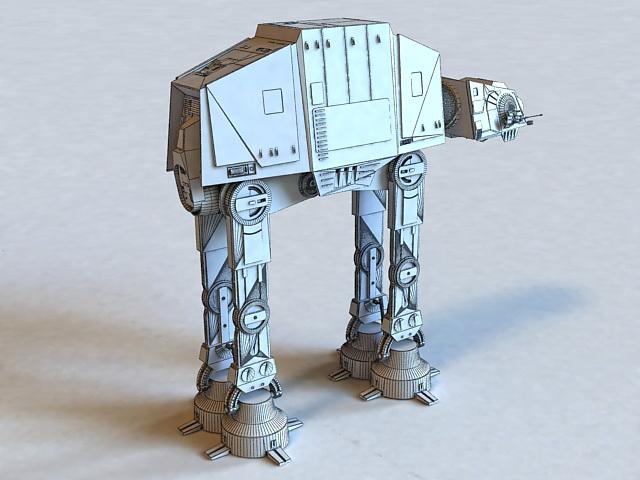 AT-AT Walker Star Wars 3D model