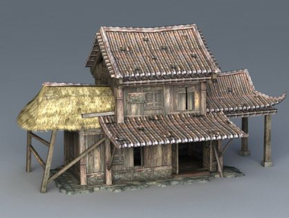 Ancient  Wooden House