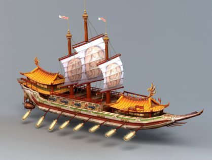 Ancient Chinese  Ship