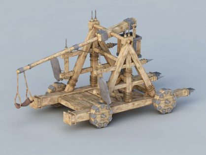 Ancient Rome Catapult