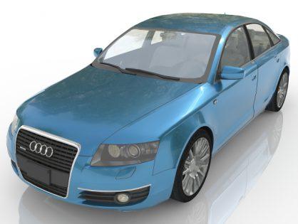 Audi А6 3D model