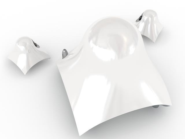 Audio system JBL 3D model