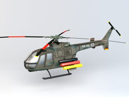 BO 105P PAH-1 Helicopter