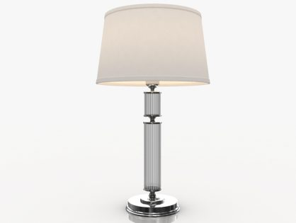 Bedroom Table Lamp 3D model