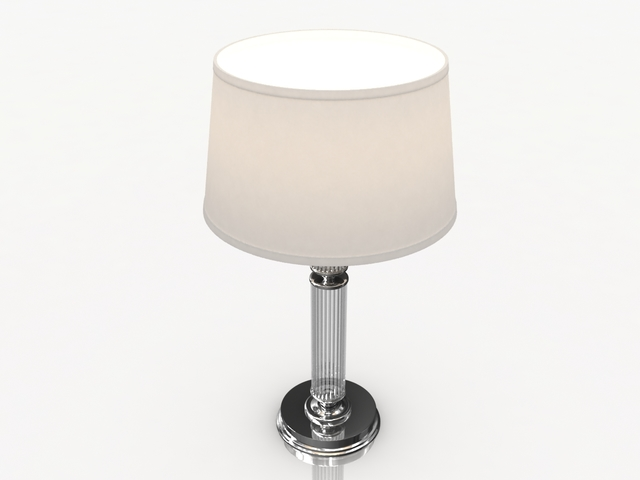 Bedroom Table Lamp 3D model