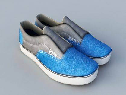 Men's shoes 3D models Download for Free