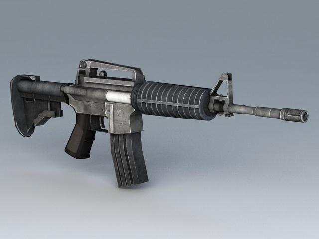 Colt M4 Carbine 3D model
