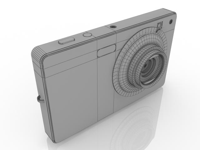 Digital Camera SONY 3D model
