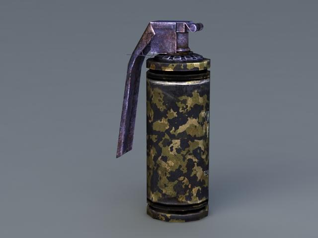 Flash Grenade 3D model