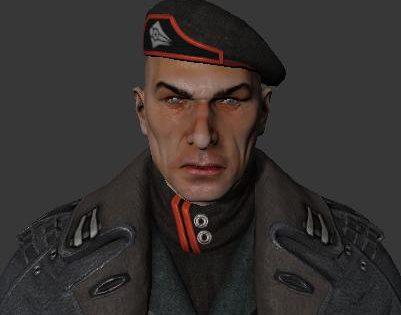 General Victor Sarrano 3D model