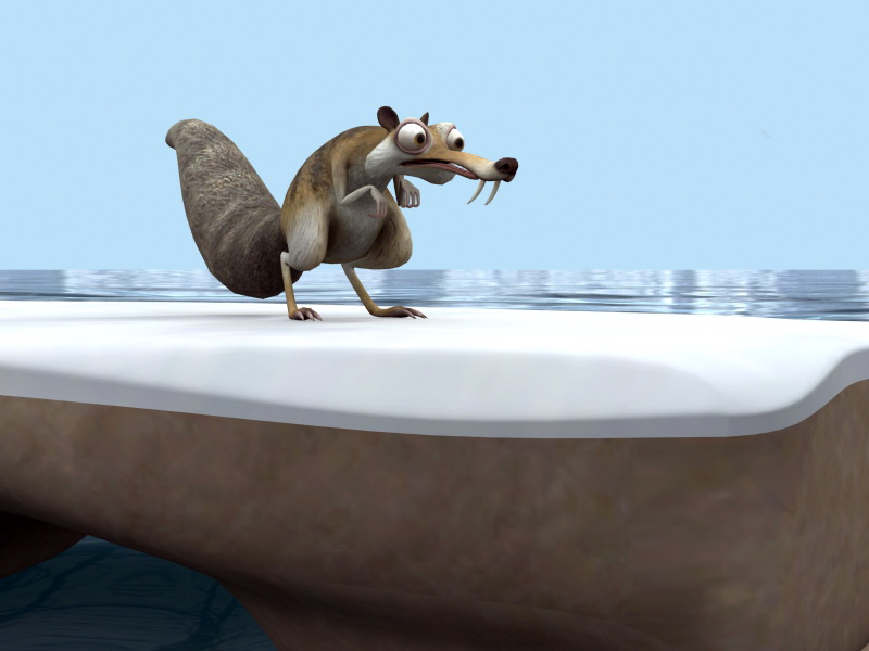 Ice Age Scrat 3D model