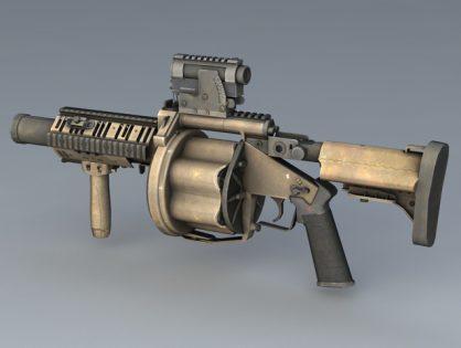 M32 Grenade Launcher