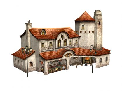 Medieval Weapons and Armor Shop