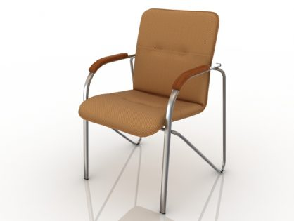 Modern office chair 3D model