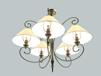 Modern simple chandelier