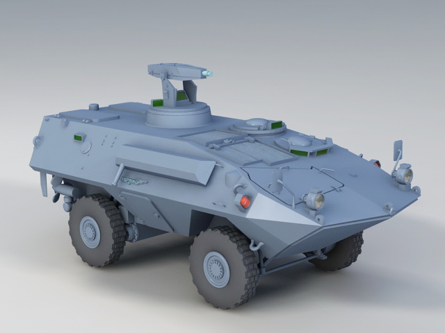 Mowag Piranha 3D model