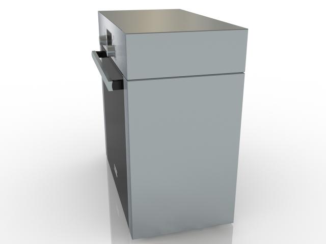 Oven Bosch 3D model