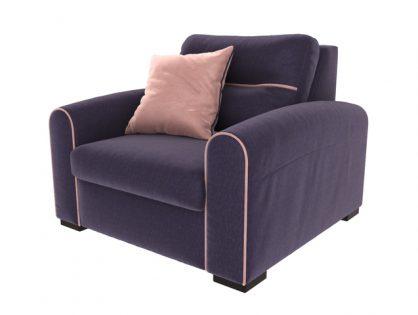 Purple Armchair 3D model