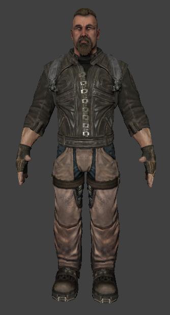 Rell Julian 3D model