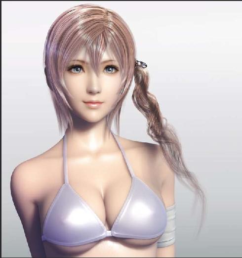 Serah Farron 3D model